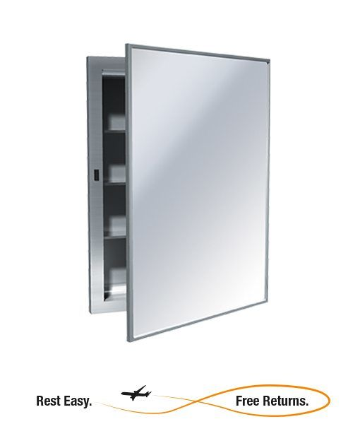 American Specialties 0952B Recessed Stainless Steel Medicine Cabinet