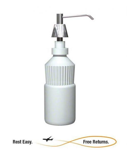 ADA Compliant -- American Specialties 0332CD Lavatory Mounted All Purpose Soap Dispenser - 20 oz.
