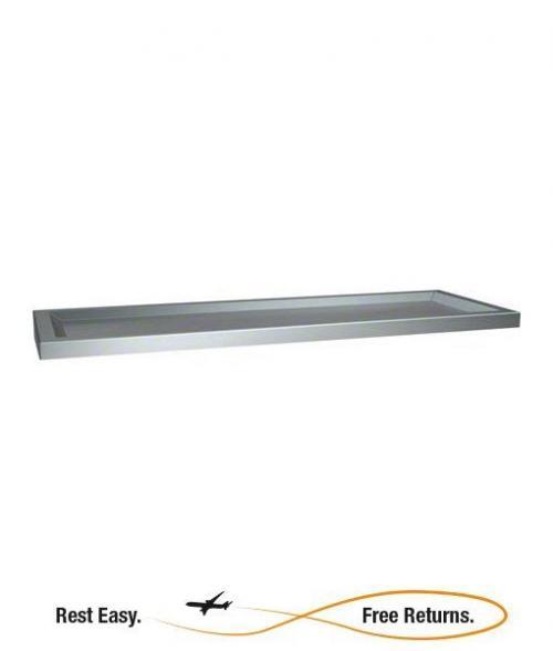 "American Specialties 069024 Stainless Steel Shelf w/Raised Edges 24"" x 6"""