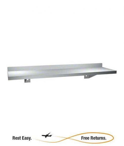 """American Specialties 069424 Shelf w/Backsplash 24"""" x 5"""""""