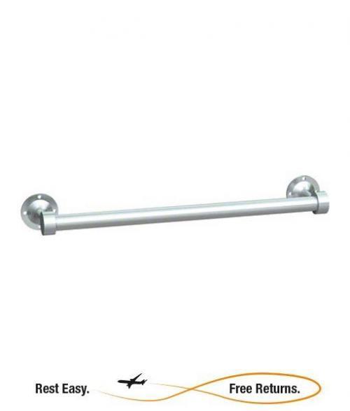 """American Specialties 0755Z24 Zamac Round Towel Bar 24"""""""