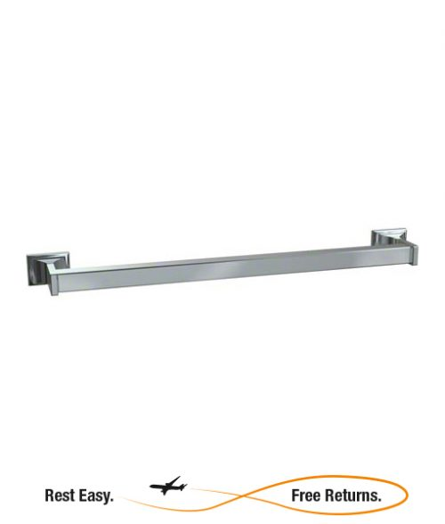 American Specialties 0760Z24 Zamac Square Towel Bar 24""