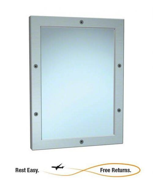 "American Specialties 10514 Front Mount Framed Mirror 12"" x 16"""