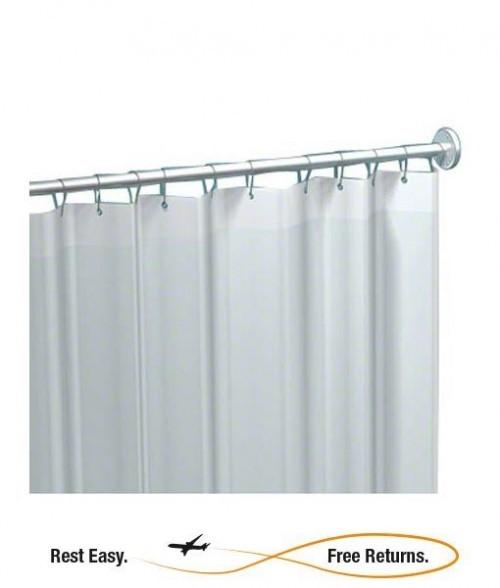 ADA Compliant American Specialties 1200V Vinyl Shower Curtain 72u2033Hx42u2033W