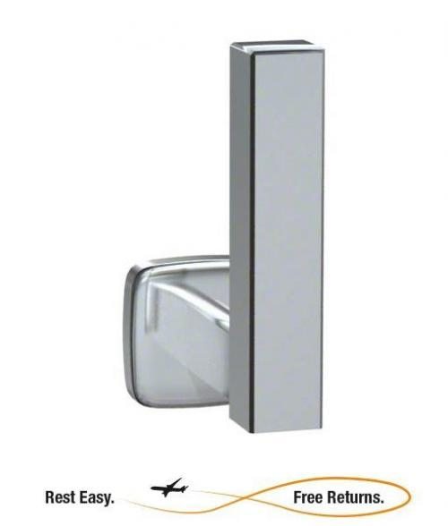 American Specialties 7303B Bright Stainless Steel Extra Roll Toilet Tissue Holder