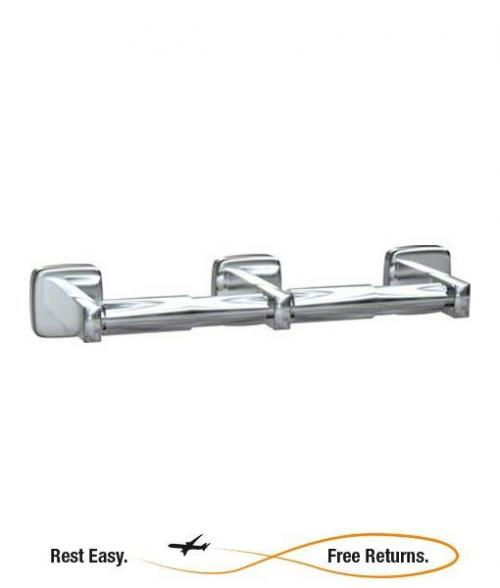 American Specialties 73052S Double Surface Mounted Toilet Paper Holder