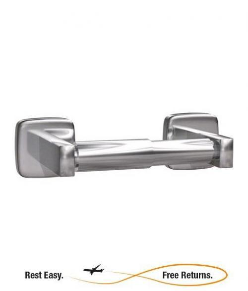American Specialties 7305B Single Surface Mounted Toilet Paper Holder