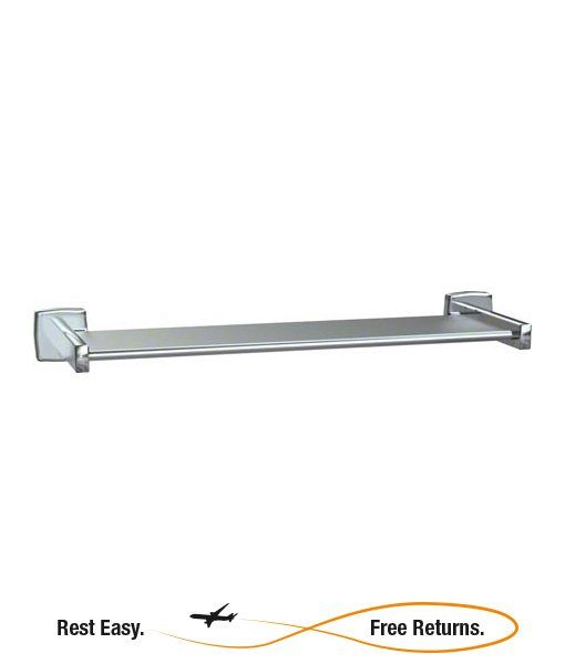 """American Specialties 738024B Stainless Steel Shelf 24"""" Bright Polished"""