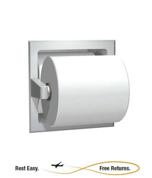 American Specialties 7403B Bright Stainless Steel Spare Roll Toilet Tissue Holder