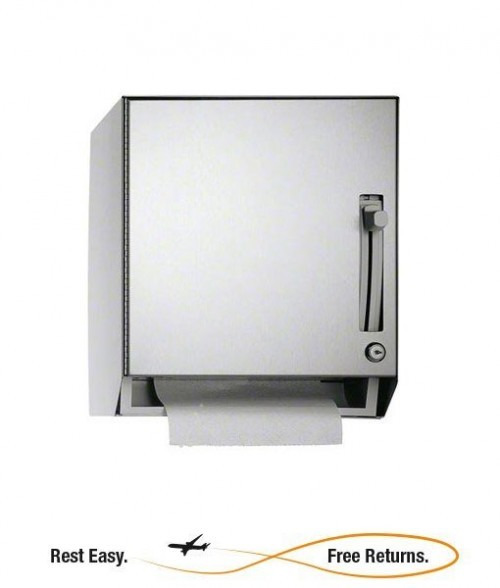 American Specialties 8522 Traditional Mechanical Roll Paper Towel Dispenser