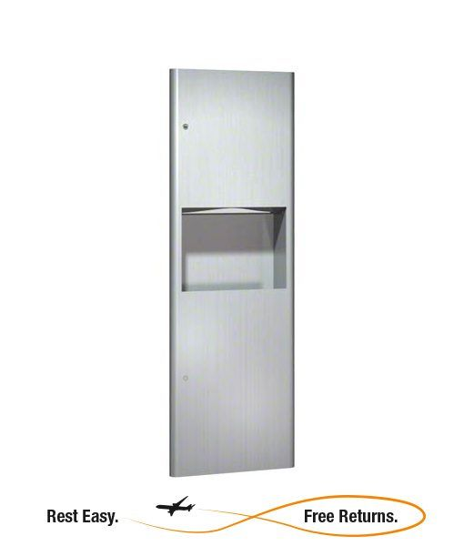 American Specialties 9467 Profile Paper Towel Dispenser w/5 Gal. Receptacle