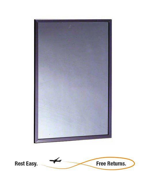 "ADA Compliant Bobrick B1652436 Framed Mirror 24"" x 36"""