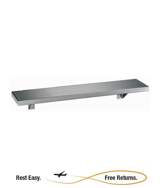 """Bobrick B295X16 Stainless Steel Shelf 5"""" W x 16"""" L"""