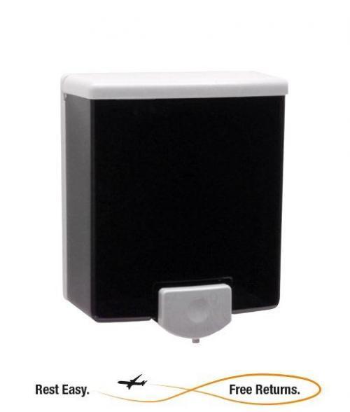 ADA Compliant -- Bobrick B40 ClassicSeries 40 oz. Soap Dispenser - Black/Grey