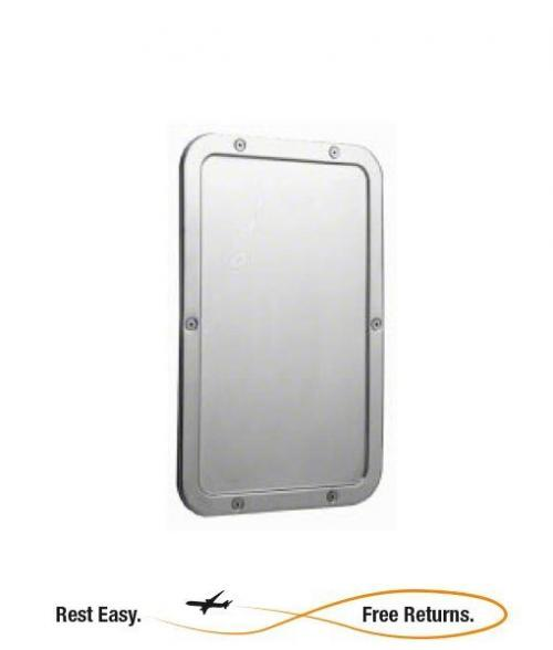ADA Compliant Bobrick B942 Frameless Mirror 11.25 x 17.25