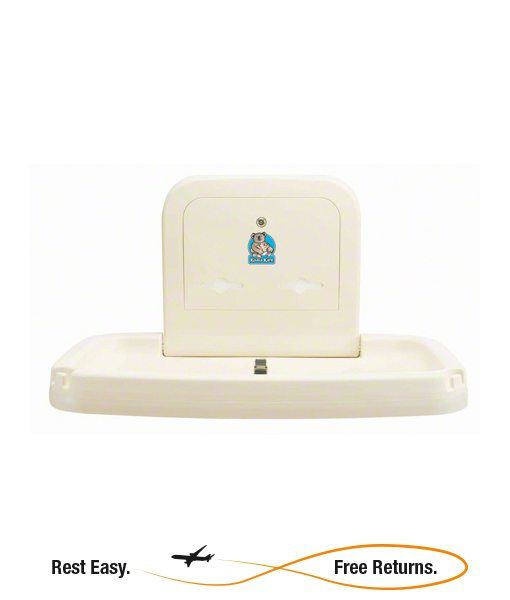 Bobrick KB Horizontal Baby Changing Station Cream Bobrick Baby - Koala baby change table