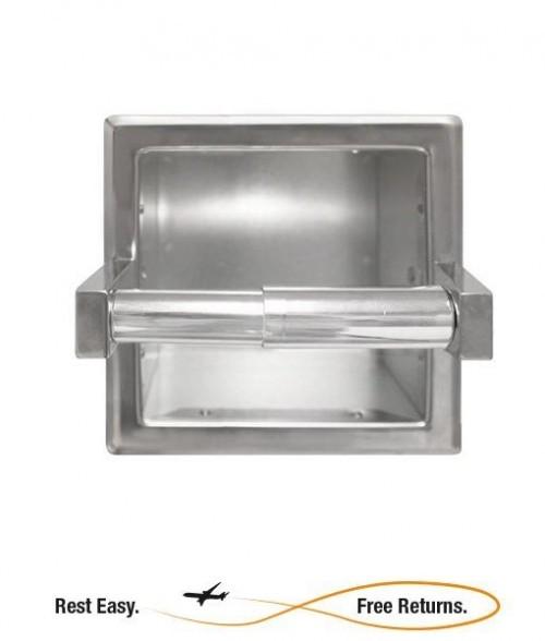 Bradley 5105 5105 Single Roll Tissue Dispenser w/Spare Roll