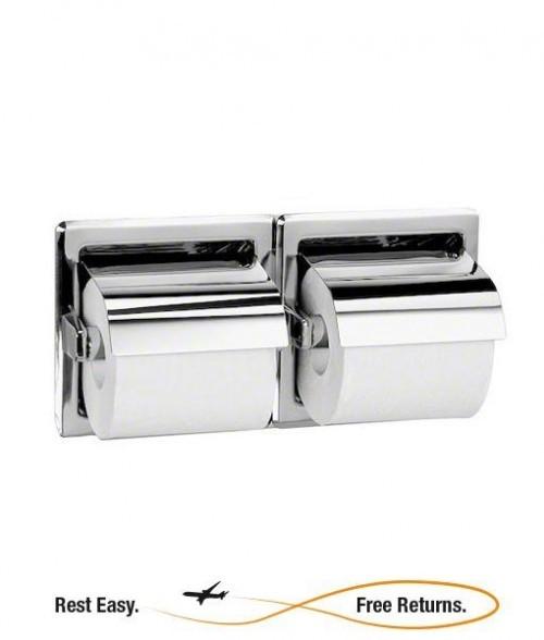 Bradley 5123 5123 Recessed Dual Roll Toilet Tissue Dispenser
