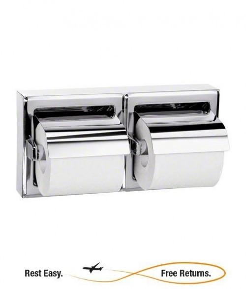Bradley 5126 5126 Dual Roll Toilet Tissue Dispenser