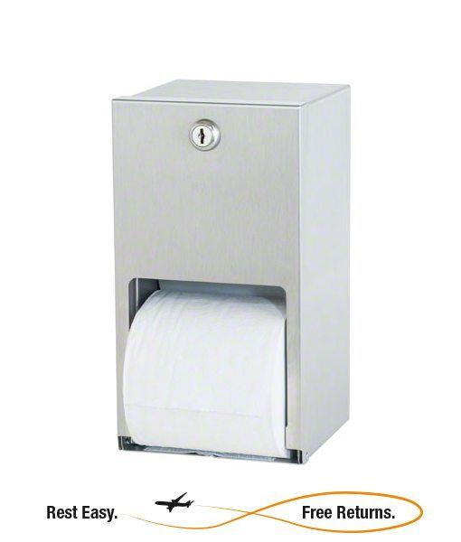 Bradley 5402 5402 Dual Roll Toilet Tissue Dispenser