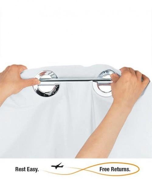 Hookless HBH10GA01 Shower Curtain