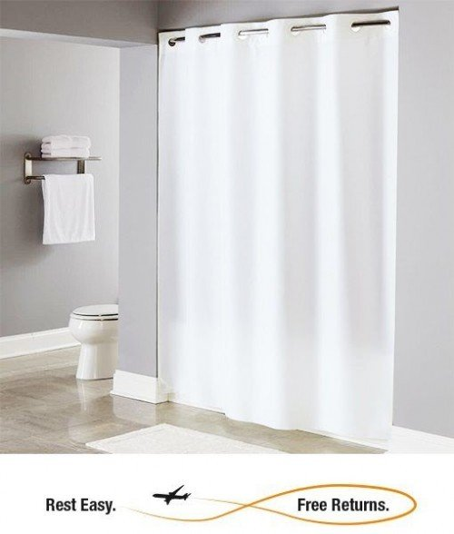 Hookless HBH40PLW0 Shower Curtain
