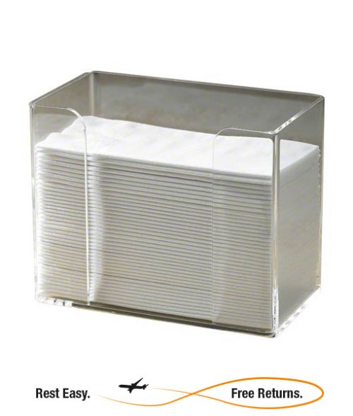 Hoffmaster 710000 Acrylic Guest Towel Holder Hoffmaster 710000 Clear Acrylic Guest Towel Holder Hoffmaster 710000 Acrylic Dinner Napkin Holder Countertop Towel Holder Countertop Napkin Holder Clear Acrylic Towel Holder