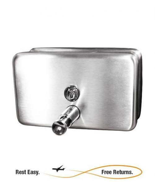 ADA Compliant -- Impact 4020 Horizontal Stainless Steel Lotion Soap Dispenser