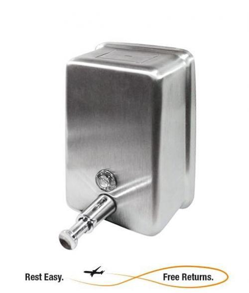 ADA Compliant -- Impact 4040 Vertical Stainless Steel Lotion Soap Dispenser