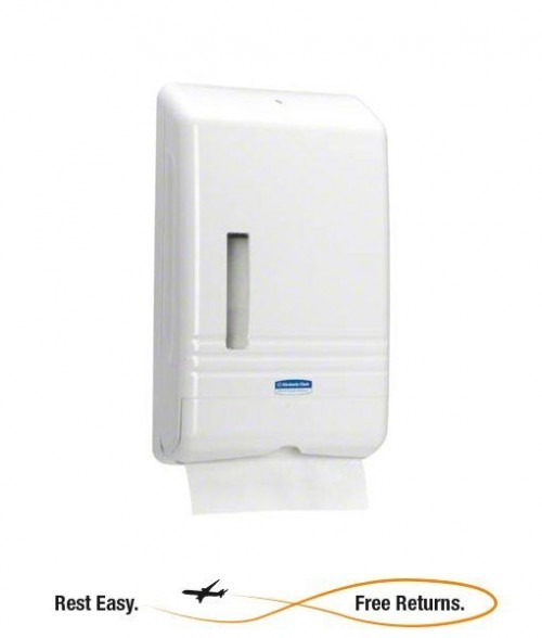 Kimberly Clark 06904 Dispenser KCP06904 KCP 06904 KCC06904 KCC 06904 KIM06904 KIM 06904 KC06904 KC 06904 KC Slimfold Towel Dispenser KC Slimfold Dispenser KC Slim Fold Towel Dispenser Kleenex Slimfold Towel Dispenser White