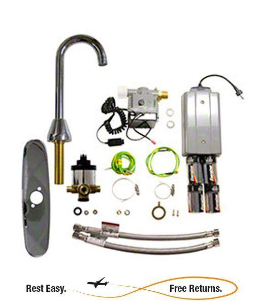 Rubbermaid 500611 Venetian 3 5″ Auto Faucet® 8″ Center Kit 3