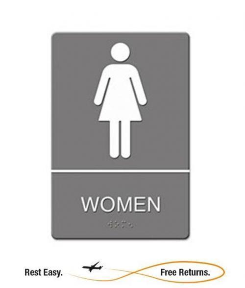 bath room sign